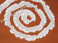 Кружево хлопковое плетеное обшивка ХР1,8-15 (шир.1,8см)(1метр)